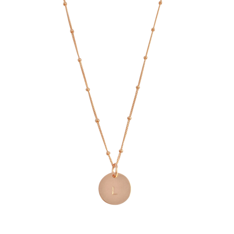 Misuzi The Aria Classic Disc Necklace 18""