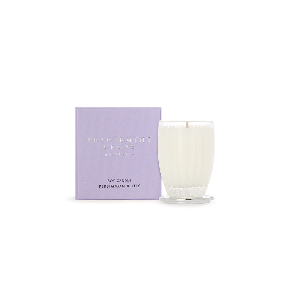 Peppermint Grove Small Candle - Persimmon & Lily