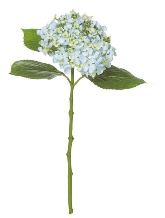Buddings Hydrangea Pick 48cm - Light Blue