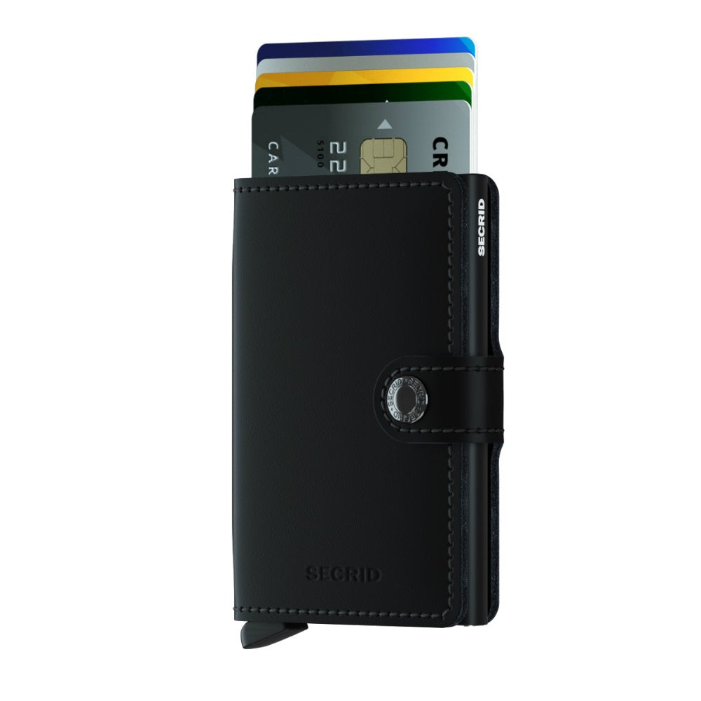 Secrid Mini Wallet Black Matte