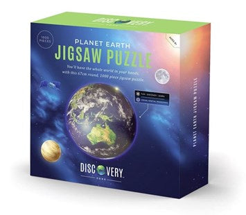 Discovery Zone Earth Jigsaw Puzzle 1000 Piece