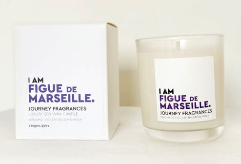 Journey Candle I AM FIGUE DE MARSEILLE - Candle Large 450gms