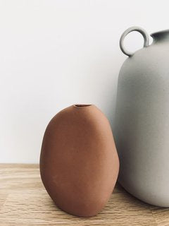 NED Collections Harmie Vase Teracotta 2