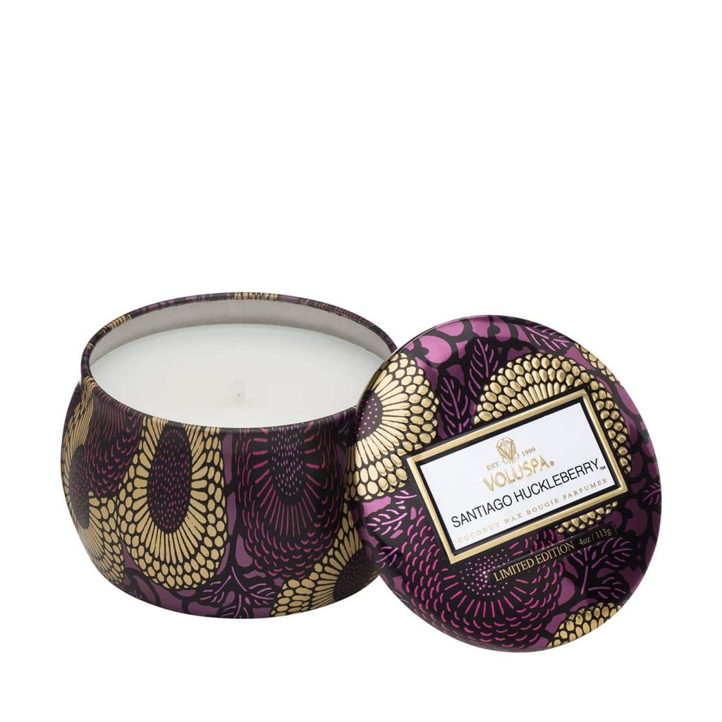 VOLUSPA Santiago Huckleberry Decorative Candle
