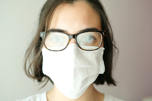 5 Ways to Avoid Foggy Glasses When Wearing a Face Mask