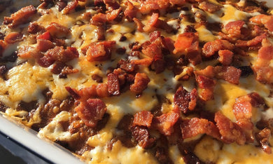 Bacon Cheeseburger Casserole-Family-size