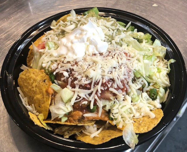 Loaded Nachos (Half-Order)