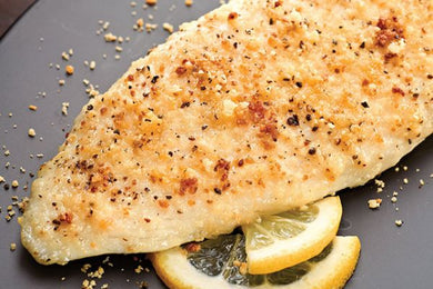 Parmesan Crusted Tilapia & Broccoli
