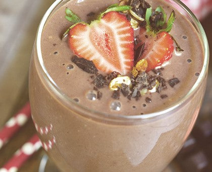 Chocolate Covered Strawberry Smoothie 12oz