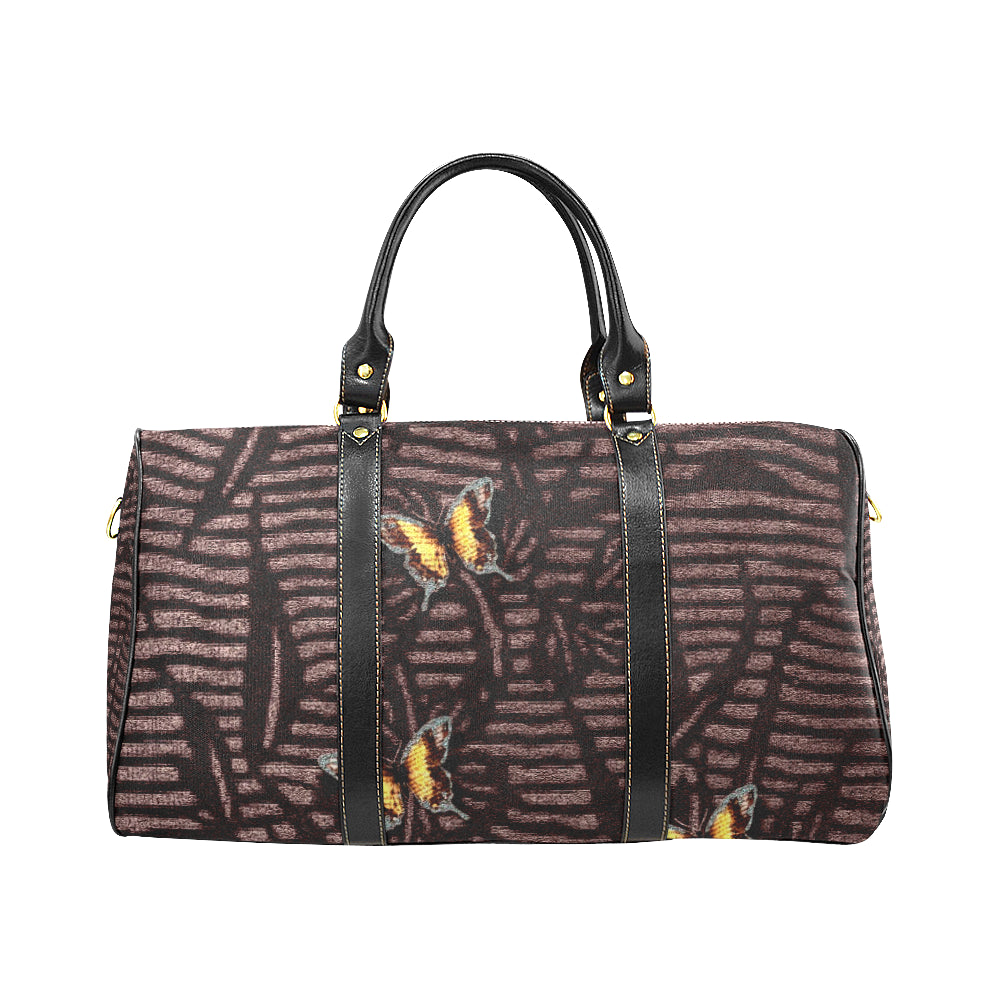 Butterfly Design © Travel Bag Black (Small) (Model1639)