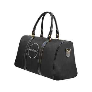 Survivor 1 Design © Travel Bag Black (Small) (Model1639)
