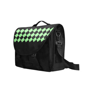Green Mind Diamond Design © Laptop Bag (Model1617)