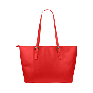 Red Bag With White Survivor 1 Text Tote Bag(Model1651) (Small)