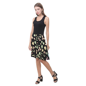 Black Colorful Heart Design Survivor 1 © Casual Sundress(Model D04)