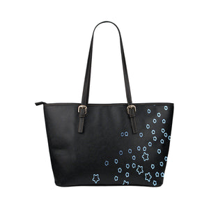 Black and Blue Star Design © Tote Bag(Model1651) (Small)