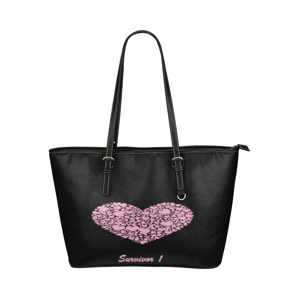 Survivor 1 Heart Design © Tote Bag(Model1651) (Small)