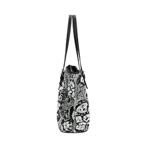 Black and White Shell Design © Tote Bag(Model1651) (Small)