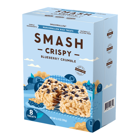 Smashcrispy® Blueberry Crumble