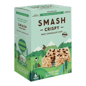 smashmallow Smashcrisp Mint Chocolate Chip marshmallow
