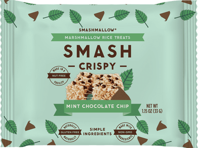Smashcrispy® Mint Chocolate Chip