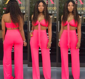 BKLD Spaghetti Straps Crop Tops Sexy Two Piece Set 2019 Summer Women Fashion Party Clubwear Pant Sets Women Outfits Tracksuit