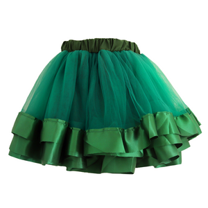 Tulle Skirt - Emerald Green