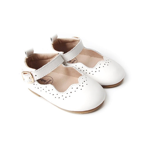 Mary Jane Shoes - White