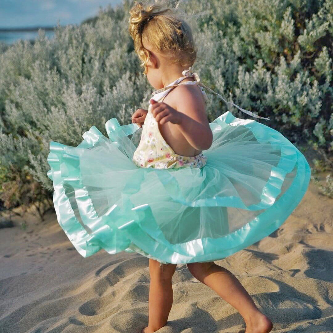 Tulle Skirt - Mint