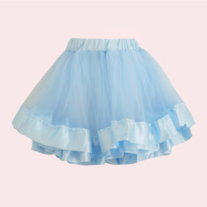 Tulle Skirt - Baby Blue