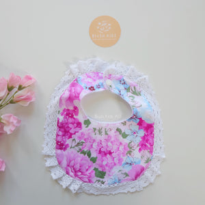 Lace Bib - Poppy