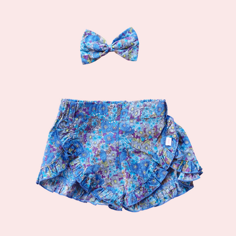 Frill Shorts + bow - Paige