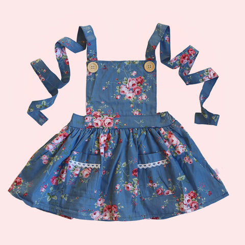 Pinafore Dress - Lola