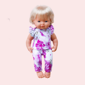 DOLL Floral Knit - Poppy