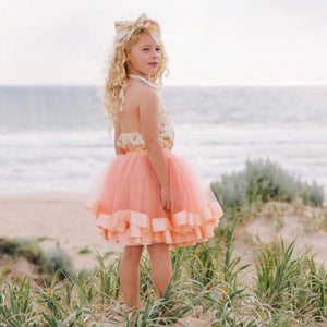 Tulle Skirt - Peach
