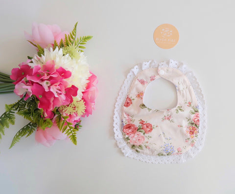 LIMITED EDITION LACE BIB - Emily