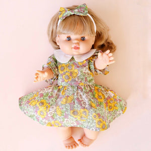 DOLL - Delilah Collar Dress + bow
