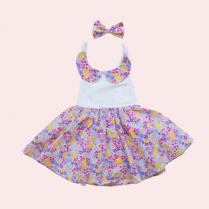 Sweetheart Dress + bow - Olivia