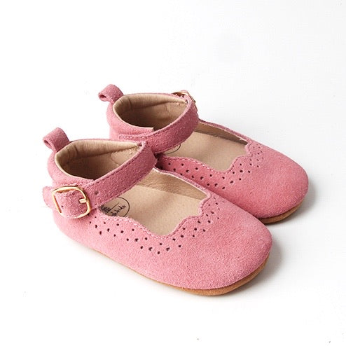 Mary Jane Shoes - French Rose
