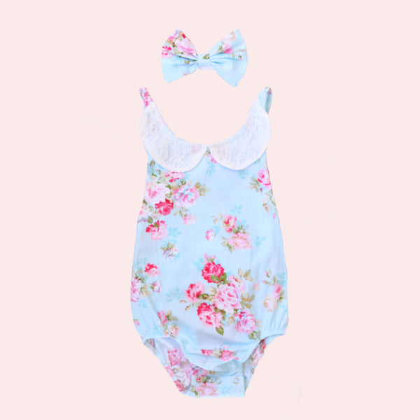 Lace Sunsuit - Millie