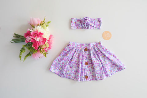 LIMITED EDITION Iris Flair Skirt