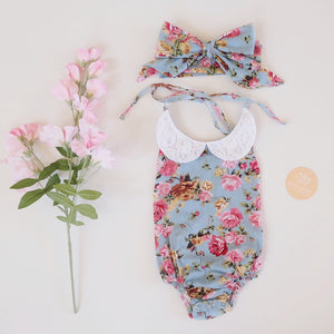 Zoe Lace Sunsuit