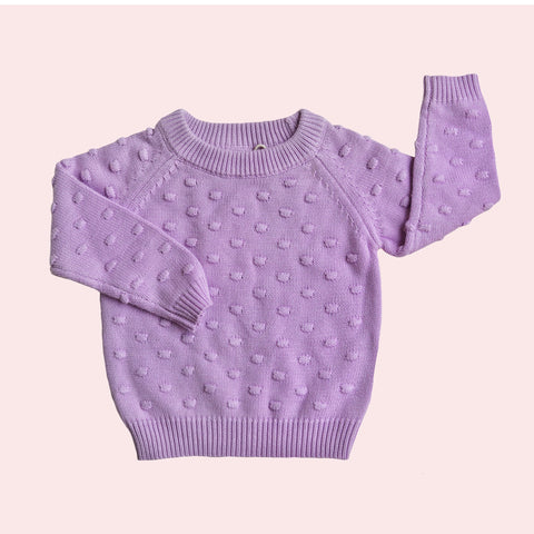 Confetti Knit Jumper - Heather