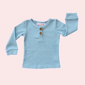 Cosy Top - Powder Blue