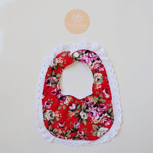 Lace Bib - Faith