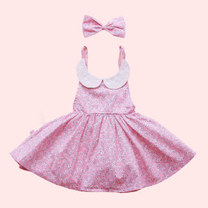 Sweetheart Dress + bow - Lylah