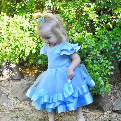 Tulle Skirt - Sky Blue