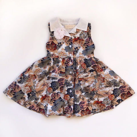 PRE-ORDER DOLL - Maple Vinty Dress