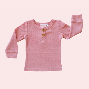 Cosy Top - Rose Quartz