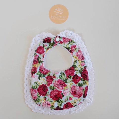 Lace Bib - Holly