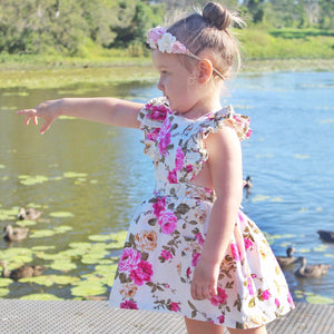 Harlee-Rose Flutter Dress
